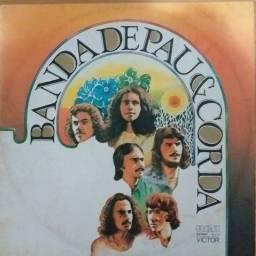 LP Vinil - Banda de Pau e Corda - Assim Amém
