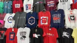 10 camisas de algodão por 200,00 frete grátis BH