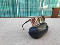Oculos de sol vogue marrom claro degrade original