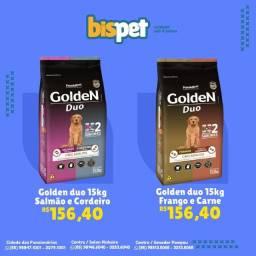 Ração GOLDEN DUO 15kg FRETE GRÁTIS