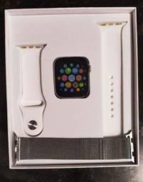 Smartwatch T500 série 6 Monitoramento cardíaco/ pressão sanguínea/ aprova d'água
