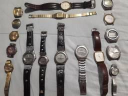 Relógios Seiko e Street.