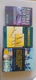 Lote de livros mercado financeiro