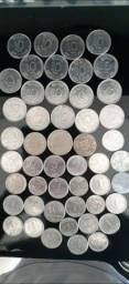 Rara coleção de moedas antigas com preço de BARBADA!!!
