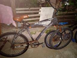Bicicleta toda em aluminio