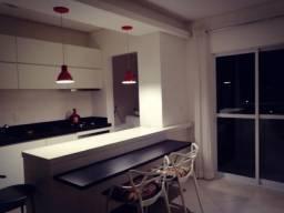 Apartamento mobiliado com linda vista