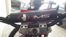 Guidão aluminio IMS excelente estado com alongador