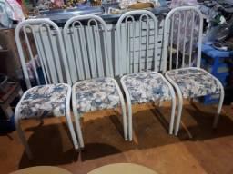 Conjunto de Cadeiras de Aço - Cozinha - Usaas
