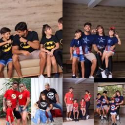 Kit família ( camisetas )