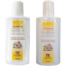 Biondina - Clareador de cabelos. Shampoo + Condicionador