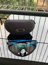 Óculos Oakley semi novo ciclismo corrida
