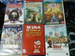 Filmes desenho em Dvd originais entrego