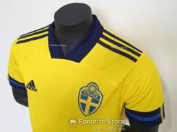 Camisa Suécia 2021/22 - Loja Fanático Store - Pronta entrega