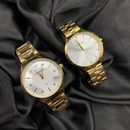 Relógios femininos e masculinos