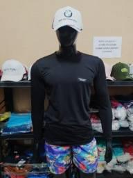 Camisa Térmica Proteção Uv 50+ Segunda pele Compressão Sol Praia Solar