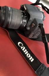 Camêra Canon EOS Rebel T5i usada pouquíssimas vezes