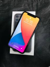 iPhone 11 64GB - Preto - Com garantia Apple | Aceitamos troca