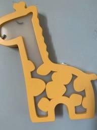 Luminária de girafa