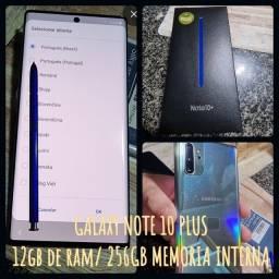 GALAXY NOTE 10 PLUS 12GB/256GB