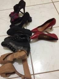 Pacotão de sapatos com preço de bazar 37