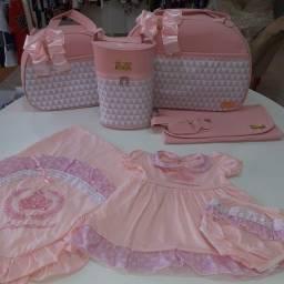 Promoção: Kit Bolsa Com Saída De Maternidade