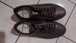 Sapato Democrata masculino marrom - Tam. 38
