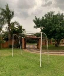 Trave de Futsal com Rede em Excelente Estado!