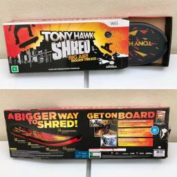 Controle / Jogo / Game - Skateboard Tony Hawk Shred - Nintendo Wii