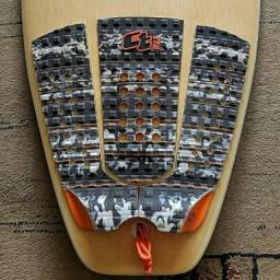 Prancha Surf Powerlight Joker Custom 5 Plugs Fcs tri quad grátis Deck Ctwax