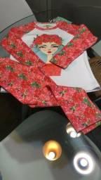 Pijamas infantil feminino