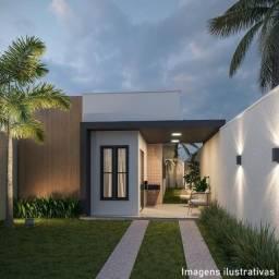 Casa plana Guaribas Eusébio com 03 quartos