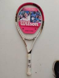 Título do anúncio: Raquete de tênis Wilson Federer pro
