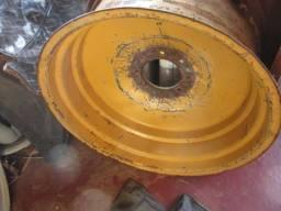 Roda de retroescavadeira retro escavadeira maxion mf massey