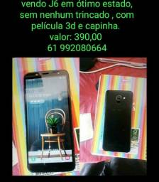 Samsung J6 , top.