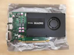 Usado, Placa de Vídeo Nvidia Quadro K2000 2Gb GDDR5 128bits. comprar usado  São Paulo