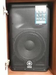 Caixa ativa dxr12 / subwoofer dxs12 / microfone vir 502 vokal