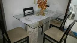 Mesa de mármore e vidro 1.000,00 aceito cartão 99274-7226