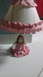 Abajur de criança rosa nunca usado zap 99835158