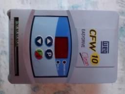Inversor de frequência cfw 10 para motores de 0,5 cv