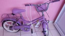 Bicicleta infantil feminina 90 reais