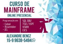 Curso de Mainframe ( Cobol, Assembler, JCL, CICS, DB2 )