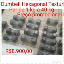 Dumbell Hexagonal Texturizado