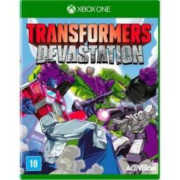 Jogo Xbox One Transformers Devastation