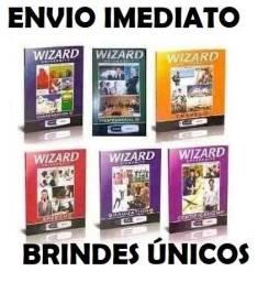 Livros Da Wizard / Originais! W2 Ao W12 + Mp3 + 3 Brindes