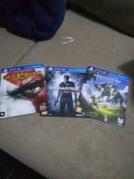 Troco jogos de PS4