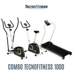 Elíptico Tecno fitness eletronic - Facilitamos no pagamento em 6x sem juros