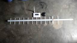 Repetidor de sinal celular com Antena