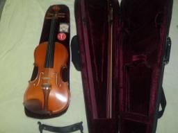 Violino Michael 4/4 (Inclui estojo e cavalete extra)