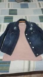 Vendo jaqueta jeans feminina