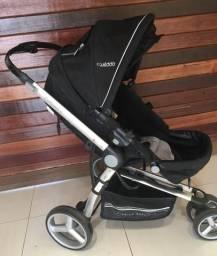 Carrinho + Bebê conforto + Colchão